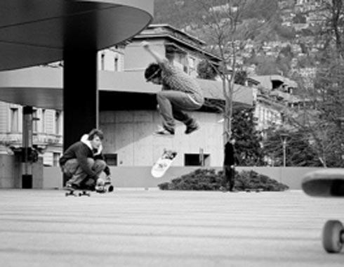 Skateboarding und Camping 2009